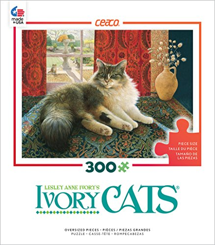 Ceaco Ivory Cats - Agneathea and The Greek Vase Puzzle