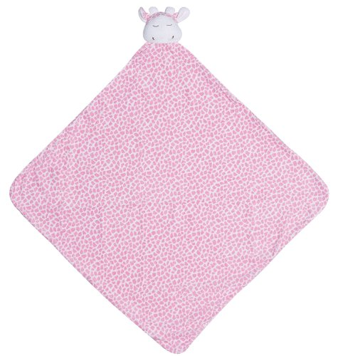 Angel Dear Napping Blanket, Pink Giraffe