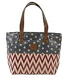 Antebellum Canvas Shoulder Tote Bag by VHC Brands Inc.