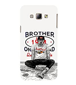 EPICCASE Swagger guy Mobile Back Case Cover For Samsung Galaxy A8 (Designer Case)