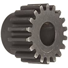 Martin Spur Gear, 14.5 Pressure Angle, High Carbon Steel, Inch, 4 Pitch