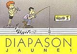 Diapason-jaune-:-chansons-pour-les-enfants-avec-accords-et-partitions-:-volume-1
