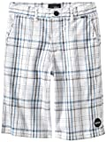 Hurley Boys 8-20 Jackson Walkshort, White, 8