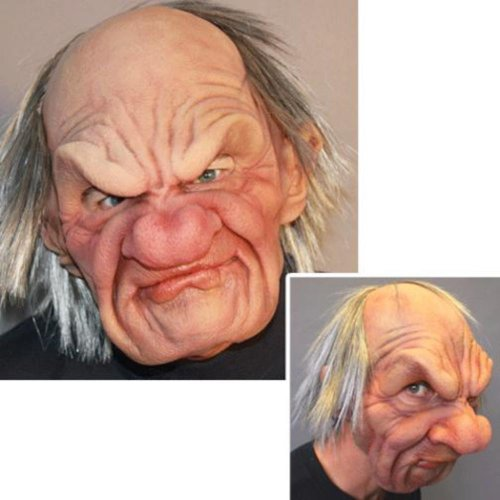 Zagone Studios Men'S Grumpy - Supersoft , Flesh, Adult One Size