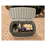 Rubbermaid Deck Box With Seat 2 ' H X 3 ' 6