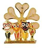 DollsofIndia Jagannath, Balaram & Subhadra for Car Dashboard - 2 x 1.5 x 0.4 in.