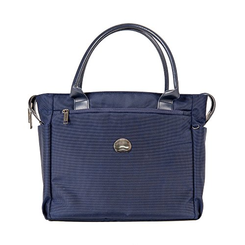 delsey-luggage-montmartre-journee-womens-laptop-travel-tote-navy