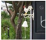 Rooster Chicken Garden Door Bell Foundry Main Home Decor Door Décor