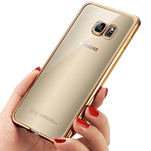 Coque SamSung Galaxy S7, Mture Case Placage Coque Samsung Galaxy S7 Housse Etui Couverture Gel TPU Silicone Clair Transparente Ultra Mince Ultra Léger...