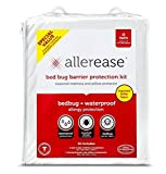 Allerease Allergy Protection Zippered Mattress & Pillow Case Combo
