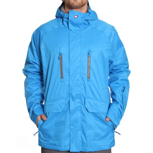 Quiksilver Piranha Insulate Men's Jacket Azul Blue Small