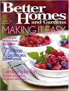 Better homes and gardens august 2003 making it easy 10 no Better homes and gardens recipes from last night