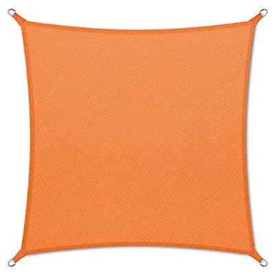 casa pura® Sonnensegel wasserabweisend imprägniert   quadratisch, 3x3m   UV Schutz   viele Farben von casa pura - Gartenmöbel von Du und Dein Garten