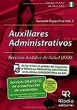 img - for Auxiliares Administrativos del SAS. Temario Espec fico. Volumen 2 (Spanish Edition) book / textbook / text book