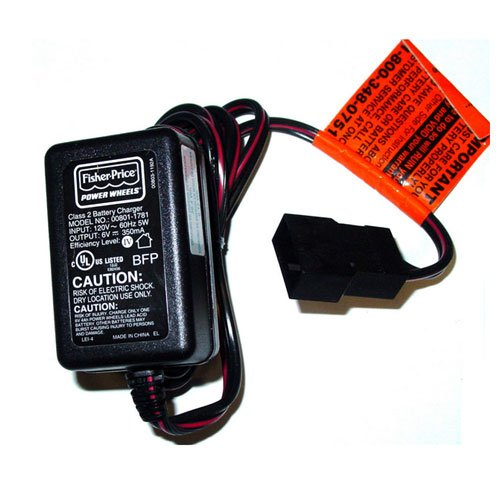 Fisher-Price Power Wheels Battery Charger Model: 00801-1781 front-285781