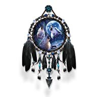 Dreamcatcher Collector Plate: Wolf So…
