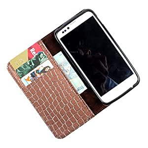 For Micromax Canvas Turbo A250 - PU Leather Wallet Flip Case Cover