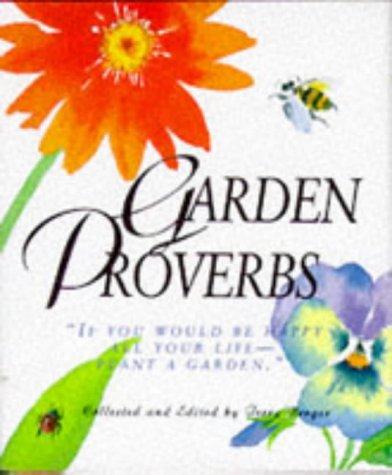 Garden Proverbs (Miniature Editions), Terry Berger