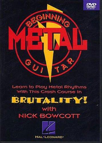 Beginning Metal Guitar - Featuring Nick BowcottB0006FO8IE : image