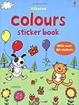 Colours (Usborne First Sticker Books)