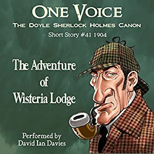 The Adventure of Wisteria Lodge Audiobook