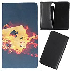DooDa - For Karbonn A80 PU Leather Designer Fashionable Fancy Case Cover Pouch With Smooth Inner Velvet