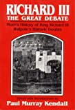 Richard III: The Great Debate (0393003108) by Horace Walpole