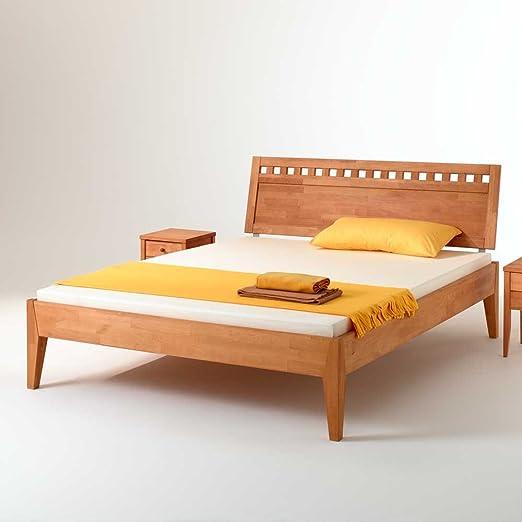 Buche Bett aus Massivholz geölt Ausfuhrung 3 Pharao24