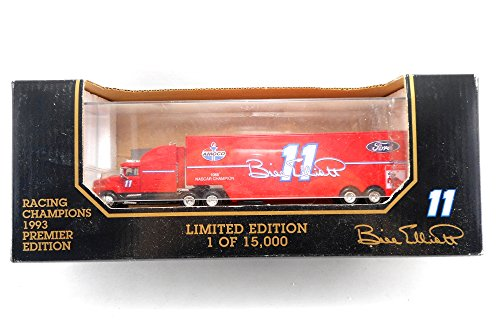 Bill Elliott Car Transporter Racing Champions 1993 1:87