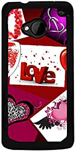 Printvisa 2D-HTCM7-D7830 Mobile Case Cover for HTC One M7