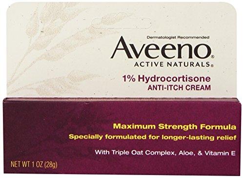 凑单品:Aveeno 艾维诺 1% Hydrocortisone 强力抗敏止痒膏 28g*2支装 $8.58