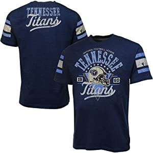 Tennessee Titans Play Dirt TShirt Navy Blue by NFL Shop