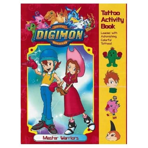 Digimon Tattoo Activity: Master Warriors (Digimon): 9780721424682