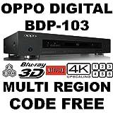 Lettori DVD e Blu-ray OPPO BDP-103 2D/3D 2K/4K PRO MOD MultiZone Blu Ray Zone A/B/C & Multi Region Code Free DVD...