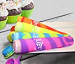 Set of 4 Frozen Smoothie Ice Pop Sili...