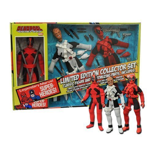 Deadpool Limited Edition 8-Inch Retro Action Figure Set by Deadpool