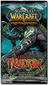 World of Warcraft TCG WoW Trading Card Game Hunt for Illidan Booster Pack