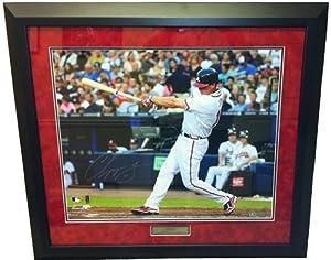 Chipper Jones Autographed Signed Atlanta Braves Framed 20x24 MLB Photo by Radtke+Sports