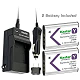 Kastar Battery (2-Pack) and Charger