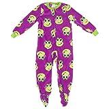 Komar Kids Girls 7-16 Fleece Frog Sleeper