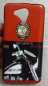 Premium Soft Printed Fancy Karbonn Alfa A120 Bike