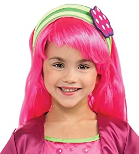Strawberry Shortcake - Raspberry Torte Wig (Child)