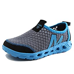 BD Kids Toddler Breathable Lightweight Sneakers Sport Shoes Sandals Beach Blue 6