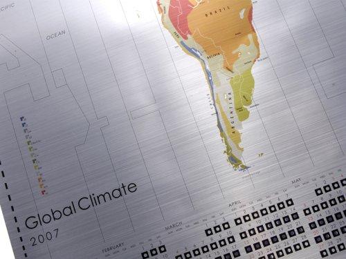 LbTD気候帯図カレンダー/GLOBAL CLIMATE 2007年度版