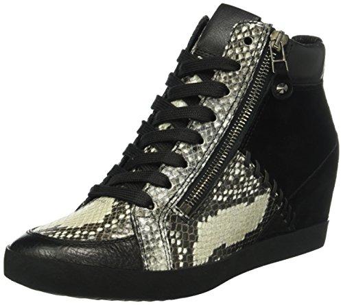 Kennel und Schmenger Schuhmanufaktur - Sneakers Donna, colore Multicolore (schwarz/grey Sohle schwarz 420), taglia 36 2/3