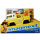Fisher Price - Imaginext - Toy Story - Pizza Planet Truck with Woody Mini Figure - X4086