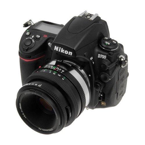 Fotodiox 09LAETRNKP Pro Lens Mount Adapter, Bronica ETR Lens to Nikon Camera Mount Adapter for Nikon
