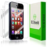 IQ Shield LIQuidSkin - Apple iPhone 5 Screen Protector Ultra Smooth Film , Full Body Skin , Lifetime Replacement Warranty