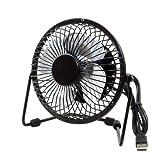 #5: Metal Series Mini USB Fan, 360 Degree Rotate