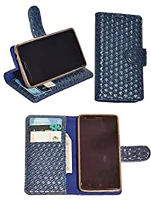 R&A Pu Leather Wallet Flip Case Cover With Card & ID Slots & Magnetic Closure For Xiaomi Mi 4